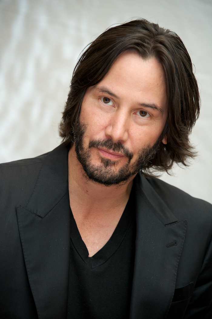"TORONTO, ON - SEPTEMBER 10: Keanu Reeves at the ""Man Of Tai Chi"" Press Conference at The Fairmont Royal York Hotel on September 10, 2013 in Toronto, Ontario. (Photo by Vera Anderson/WireImage)"